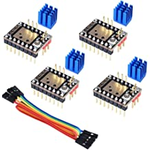 Kingprint TMC2208 V3.0 Stepper Damper with Heat Sink Driver 5 pieces Replacement Damper for A4988 DRV8825 for 3D Printer