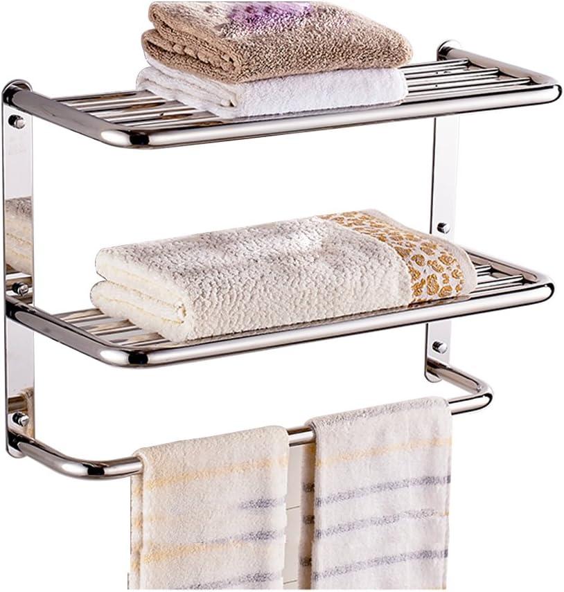 24 Inch Bathroom Shelf 3 Tier Wall, Bathroom Wall Towel Rack