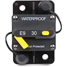 Fastronix 30A 12V Type 1 Automatic Reset Circuit Breaker with Cover