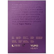 Yupo Medium Pads 6X15 10 Sheets//Pkg-White 74Lb