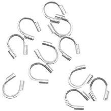 18-Gauge 6mm Beadaholique JR//040X6S 50-Piece Open Jump Rings Silver