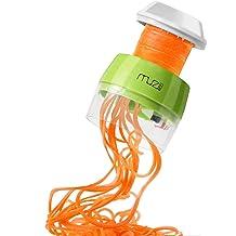 Felji Tri-Blade Plastic Spiral Vegetable Slicer Spiralizer Cutter