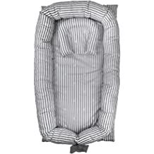 Portable Baby Lounger Detachable Machine Washable Use in Crib MINGPINHUIUS Baby Nest with Ice Silk Mattress BN3052