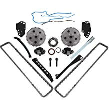 MOCA New Timing Chain Kit with Cam Phasers Gears /& Water Pump /& Cover Gaskets for 2004-2008 Ford F150 /& 2005-2006 Lincoln Mark LT 5.4L V8 SOHC