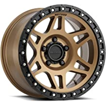 FUEL 1PC STROKE GLOSS BLACK BLUE TINTED CLEAR STROKE 22x10 8x165.10 GLOSS BLACK BLUE TINTED CLEAR -18 mm RIM
