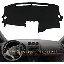 J20 Yiz Dashboard Cover Dash Cover Mat Fit for Ford F150 F250 F350 Bronco 1992 1993 1994 1995 1996 1997 Black