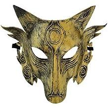 BLACK CAT WOMAN MASQUERADE LACE  MASK EARS HEADBAND Halloween FANCY DRESS M329