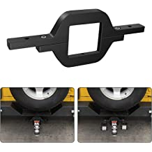 FreeTec Tow Trailer Hitch Mounting Bracket Kit Universal Tube Clamps for Dual LED Backup Reverse Lights