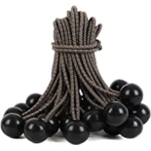 25-Piece Multi-Color Kotap BB-9 Ball Bungee 9-Inch