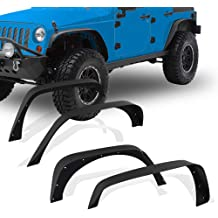 Direct Replacement for Part#11601.01 ECOTRIC Fender Flare Flares Full Kit for Jeep CJ CJ5 CJ7 1955-1986