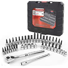 1//2 and 3//8 Drive 1//4 Craftsman 10 Piece Socket Accessory Set 9-42351