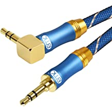 6.6Ft//2Meters 3.5mm Male TRS to Double 6.35mm 1//4 Male TS Stereo Audio Cable,EMK 3.5 to 6.35 Splitter Cord for Home Stereo Systems,Laptop,Amplifier,Mixer Audio Recorder,MP3,etc