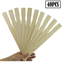 9 Inch Paint Sticks Box of 250 Sanded Hardwood Paint Stirrers for Wax Resin or Kids Wood Crafts Garden and Library Markers by Woodpeckers Mix Epoxy