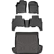 SMARTLINER All Weather Custom Cargo Liner Trunk Floor Mat Black for 2020 Ford Explorer