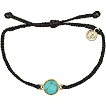 Threaded Adjustable Artisan Handmade Fashion Jewelry for Girls//Women Pura Vida Rose Gold Sand Dollar Bracelet Waterproof