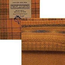 Primitive Gatherings Hand Dyed Wool Primitive 2 Charm Pack 10 5-inch Squares Moda Fabrics PRI 6026