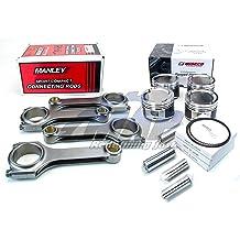 DNJ P720.20 Oversize Complete Piston Set For 04-15 Subaru Baja 2.5L DOHC