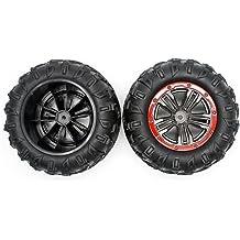2 Pcs HOSIM RC Car Tires Accessory Spare Parts Wheels 30-ZJ02 for Hosim 9130 9135 9136 9137 9138 RC Car