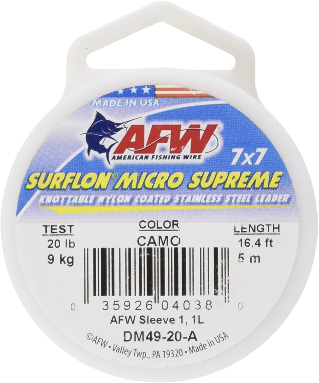American Fishing Wire Surflon Micro