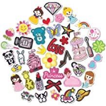 9 PCS ARTEM Sheep Patch Alpaca Patch Iron On//Sew On Patch Embroidered Badge Patch Childrens Clothing Decorative Applique Patches for Bag Shoes Pants Jeans Jackets