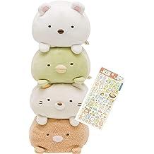 24/'/' SAN-X Sumikko Gurashi Polar Bear Kitty Dinosaur Plush Doll Stuffed Figure
