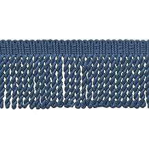 15 Ft // 4.5 Meters BFS6 Color: K13 D/ÉCOPRO 5 Yard Value Pack Basic Trim Collection 6 Inch Long Light Rose Bullion Fringe Trim