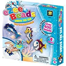 No Ironing DIY Game Perfect Birthday Activity for Kids Aged 5+ AMAV Toys Ezee Beads Water Fuse Beads Mixed Fun Craft Kit
