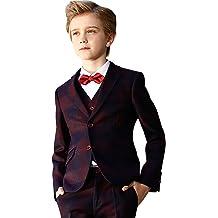 ELPA ELPA Boys Satin Neck Tie Kids Pre-tied Adjustable Necktie Solid Color Tie /& Fashion Tie
