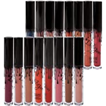 Froomer 16 Colors Waterproof Long Lasting Matte Liquid Lipstick Beauty Lip Gloss (16PCS)