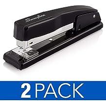 Sparco Long Reach Stapler 20 Sheet Capacity Standard Staples Putty Black