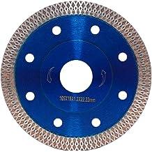 "2Pack 5"" Diamond Saw Blade Premium Continuous Turbo Cutting for Granite Marble"