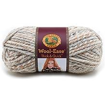 3 Pack Lion Brand Thick /& Quick Bonus Bundle Yarn-Oxford Grey