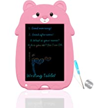 YYhappy childhood 8.5 in Colorful Electronic Drawing Pads for Kids Portable Reusable Erasable Writer,Elder Message Board,4-8 Years Old Boys for Digital Handwriting Pad Doodle Board for School Green
