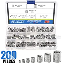 Ochoos 50pcs Stainless Steel Coiled Wire Helical Screw Thread Inserts M4 x 2D