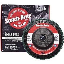 "FOKUS 5 Pack 4.5/""x7//8/"" Easy Quick Strip 4-1//2/"" Discs Remove Paint Rust /& Clean"