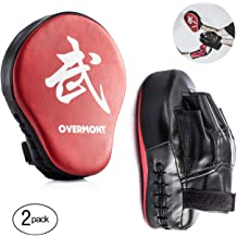 Training and Protecting Your Palm Kicking Target Taekwondo Boxing MMA Mitts Pad PU Kick Punching Pad Training Glove Target Kicking Shield Train Tool