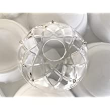 Set of 12-50 mm Clear Asfour Crystal 701 Ball Wholesale Crystal ball 1 Hole