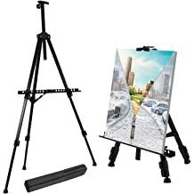 Jekkis 4 Packs Easel with Canvas Sets Tabletop Display Painting Set for Kids and Adults 12 x 9.5 Inches Canvas and 16 x 9.5 Inches Wooden Easels