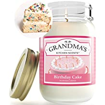 Peachy Birthday Cake Highly Scented Soy Candles One Pint Jar Hand Funny Birthday Cards Online Inifofree Goldxyz