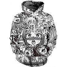 Senpai Hoodie Anti Hentai Club UZI Dope Kawaii Gang Anime Sweatshirt