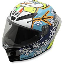 Iridium Silver//One Size AGV K3SV//K5 LG Shield Street Motorcycle Helmet Accessories