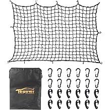 Floor Trunk Cargo Net For AUDI Q5 SQ5 Q5 HYBRID 2009 2010 2011 2012 2013 2014 2015 NEW by TrunkNets