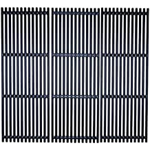 Music City Metals 67845 Matte Cast Iron Cooking Grid Replacement for Select Gas Grill Models by Broil King Huntington and Others Set of 5
