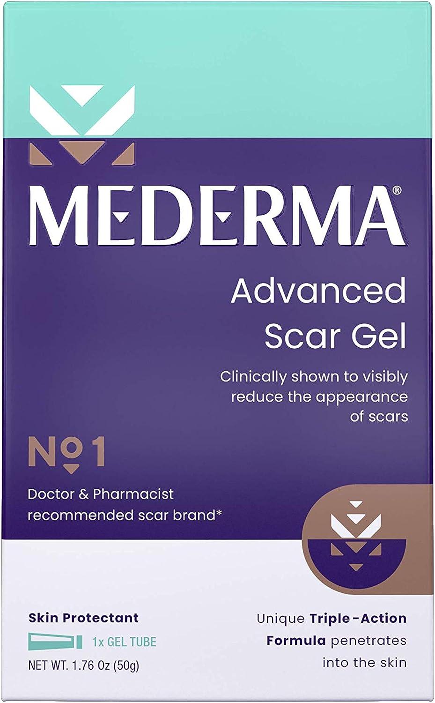 Scars mederma for piercing Most effective