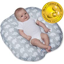 Happy-bub Baby Pillow Bed Lounger Portable Co Sleeper Nest for Infant Beige