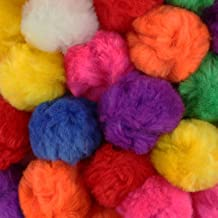 Solid Color 200-pc White The Crafts Outlet Polyester Pom Poms 5mm//0.20-inch