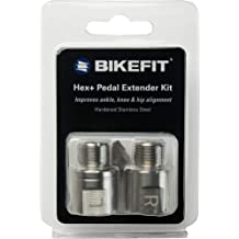 BikeFit Pedal Spacers//Pedal Extenders for 9//16 inch Crank Set 1.5 mm to 20mm