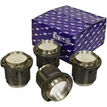 Sportsman Racing Products 268830 Flat Top Pro-Series Piston and Ring Set for Small Block Chevy