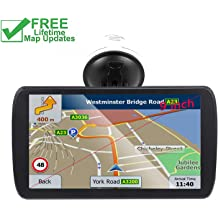 7-inch Portable Navigation System for Cars Real Voice Turn-to-turn Alert Vehicle GPS Sat-Nav Navigator Car GPS Lifetime Map Updates