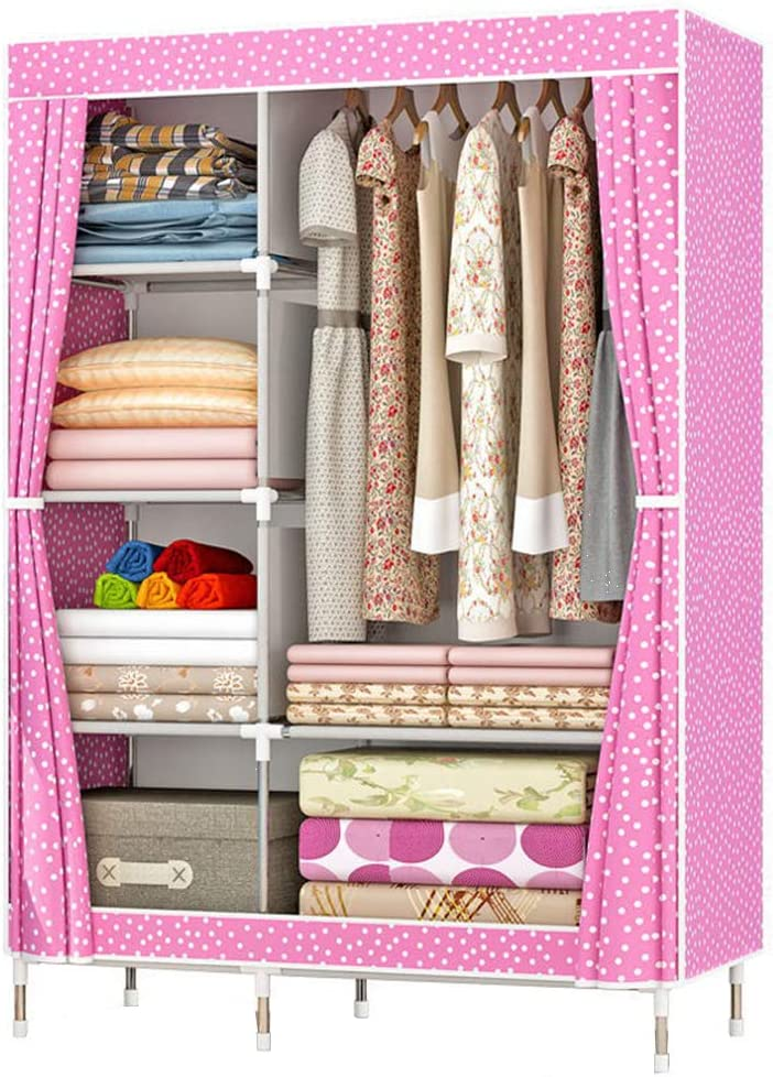Zzbiqs Clothing Closet Wardrobe, Storage For Clothes In Closet